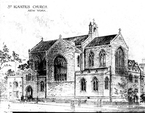 Drawing of exterior